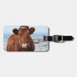 Brown Cow Bag Tag