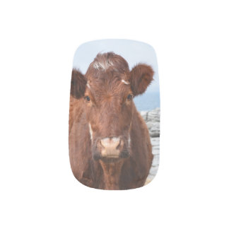 Brown Cow Minx ® Nail Art