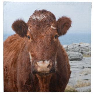 Brown Cow Cloth Napkin