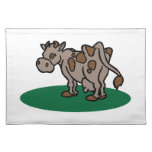 Brown Cow Place Mats