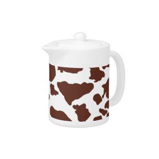 Brown Cow skin | Teapot