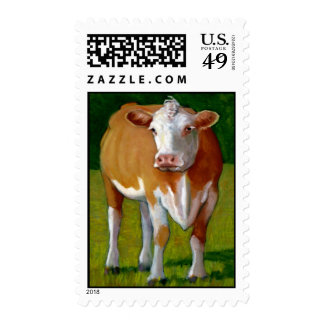 BROWN COW STAMP