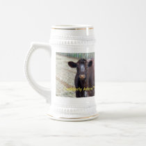 Brown Cow Udderly Adore You, Beer Stein