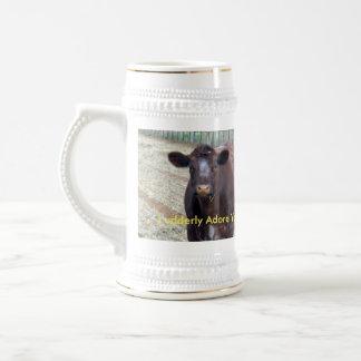 Brown_Cow_Udderly_Adore_You,_Beer_Stein_Mug. Beer Stein