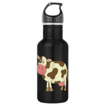 Brown Cow Water Bottle