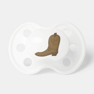 Brown Cowboy Boot BooginHead Pacifier
