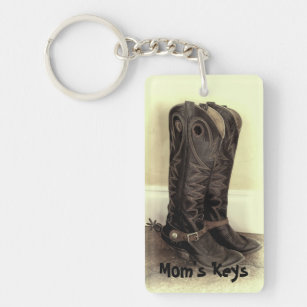 Cowboy Boots With Spurs Keychains   Lanyards  5a179aadf