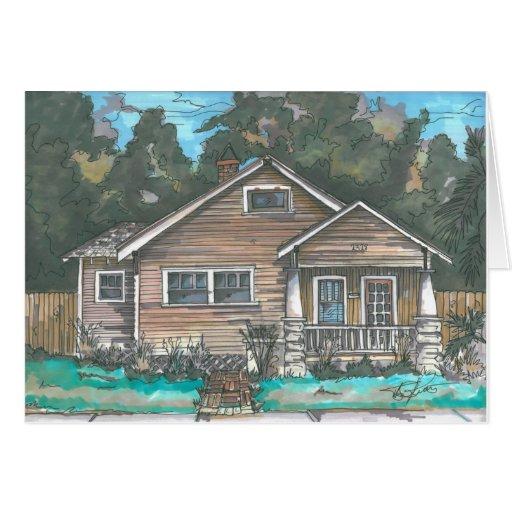 Brown Craftsman Card