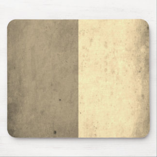 Brown Cream Bicolor Grunge Pattern Mouse Pad