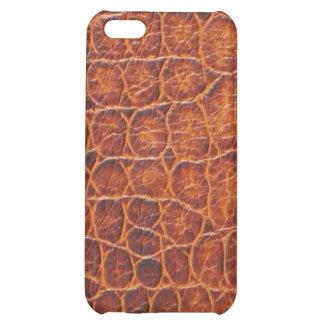 Brown Crocodile 4 4s  iPhone 5C Covers