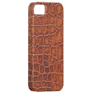 Brown Crocodile Skin iPhone 5  Barely There Case iPhone 5 Cover