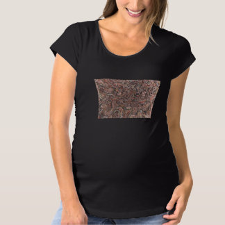 brown cross-country race maternity T-Shirt