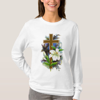 Brown Cross Tee Shirt 7