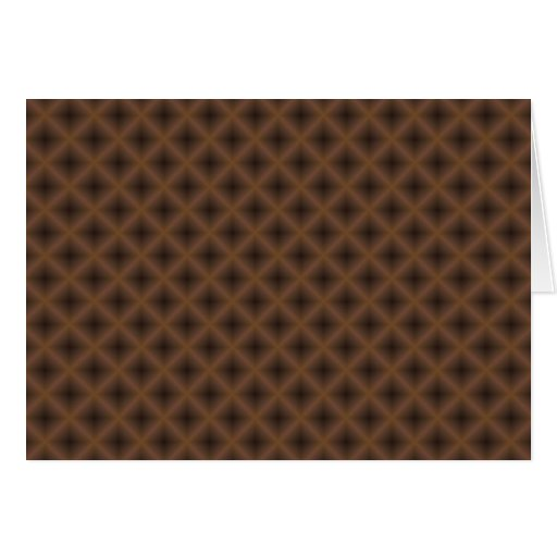 brown crossed-hatch abstract cards