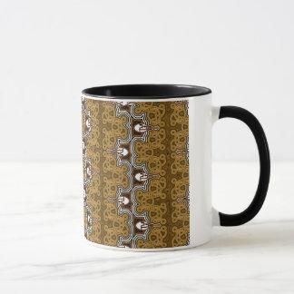 Brown Crystal Mug