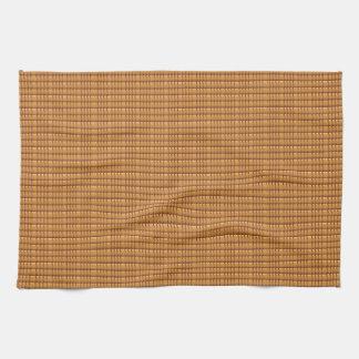 Brown CRYSTAL Template Hand Towel