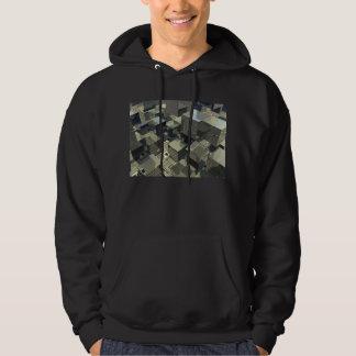 Brown Cubes On Motherboard Sweatshirt