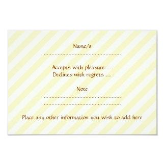 Brown Cupcake. 3.5x5 Paper Invitation Card