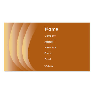 Brown Curtains Business Card