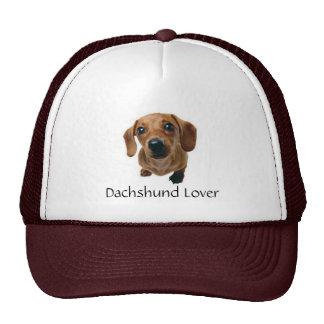 Brown Dachshund Pup Trucker Hat