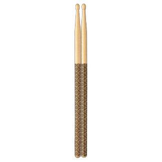 Brown Damask Drumsticks