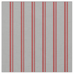 [ Thumbnail: Brown & Dark Grey Lined/Striped Pattern Fabric ]
