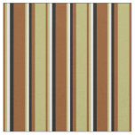 [ Thumbnail: Brown, Dark Khaki, Light Yellow, and Black Colored Fabric ]