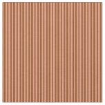 [ Thumbnail: Brown & Dark Salmon Stripes/Lines Pattern Fabric ]