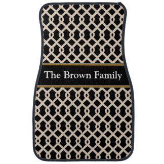 Brown Designer Car Floor Mats Car Floor Mat
