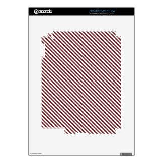 Brown Diagonal Lines Skins For iPad 2