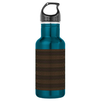 Brown Diamonds Water Bottle