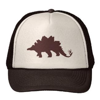 Brown Dinosaur Trucker Hat
