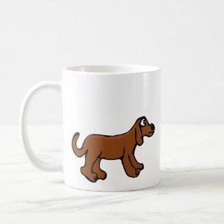 Brown Dog Coffee Mug