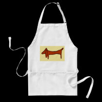 Brown Dog, Dachshund aprons