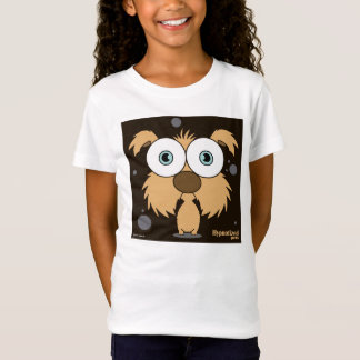 Brown Dog Girls' Bella Fitted Babydoll T-Shirt