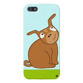 Brown Dog Thinking iPhone 5 Case