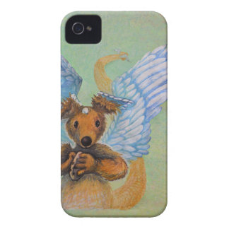 Brown Dragon With White Wings iPhone 4 Case