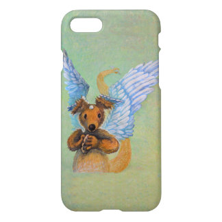 Brown Dragon With White Wings iPhone 8/7 Case