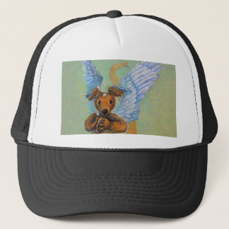 Brown Dragon With White Wings Trucker Hat