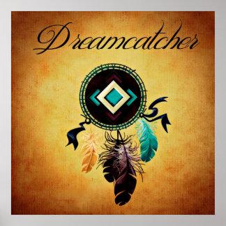 Brown Dreamcatcher Poster