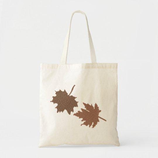 Brown Dry Leaves Bag