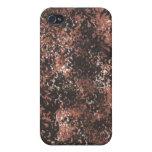 Brown e iPhone pintado negro iPhone 4/4S Carcasa