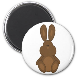 Brown Easter Bunny Magnet