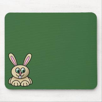 Brown Easter Bunny Mousepad 2