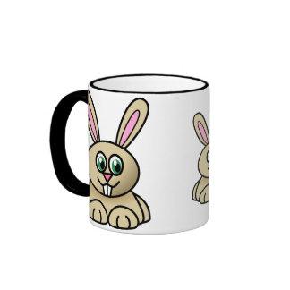 Brown Easter Bunny Mug