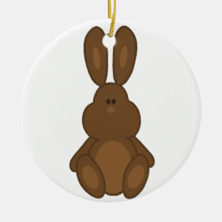 Brown Easter Bunny  Ornament