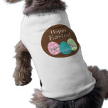 Brown Easter Eggs Happy Easter Pet Clothing