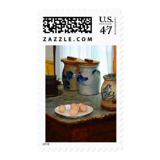 Brown Eggs and Ginger Jars Stamp