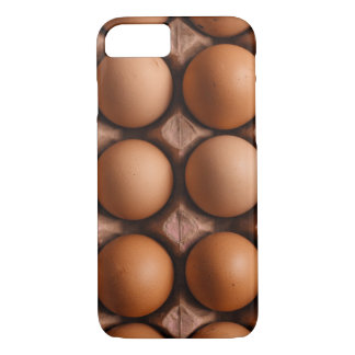 Brown eggs pattern iPhone 8/7 case