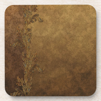 Brown elegante Toscano Posavasos